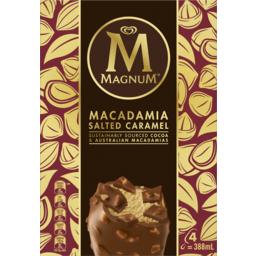 Photo of Magnum Ice Cream Macadamia Salted Caramel 388 Ml