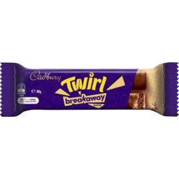 Photo of Cadbury Twirl Breakaway Bar 40gm