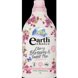 Photo of Earth Choice Fabric Softener Cherry Blossom & Sweet Pea 1l