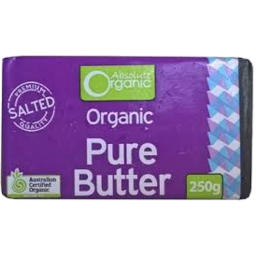 Photo of Absolute Organic Butter Salted Org 250gm