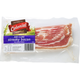 Photo of Colonial Prem Streaky Bacon 200g