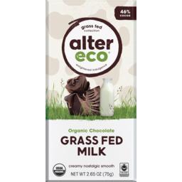 Photo of Alter Eco Chocolate - Grass Fed Milk