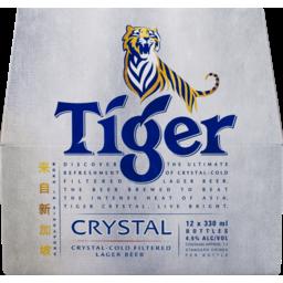 Photo of Tiger Crystal 330ml Bottles 12 Pack