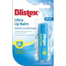 Photo of Blistex Lip Balm Ultra Vanilla SPF50+ 4.25g
