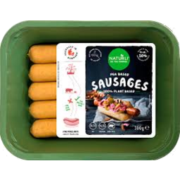 Photo of Naturli Vegan Sausages 300g
