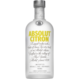Photo of Absolut Citron 700ml