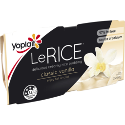 Photo of Yoplait Lerice Classic Vanilla 2x150gm