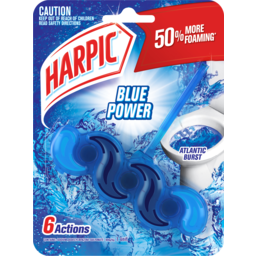 Photo of Harpic Blue Power 6 Atlantic Burst 1 Unit