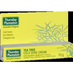 Photo of Tea Tree Cold Sore Cream 10g