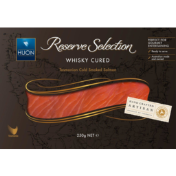 Photo of Huon Reserve Selection Whisky Cured Cold Smoked Salmon