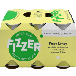 Photo of Moon Dog Fizz Piney Limey Can 330ml 6 Pack