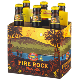 Photo of Kona Brewing Co. Fire Rock Pale Ale - 6 Ct