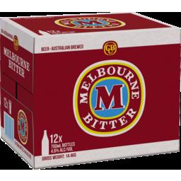 Photo of Melbourne Bitter Bottle 750ml 12 Pack