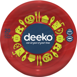 Photo of Deeko Side Plates 20 Pack