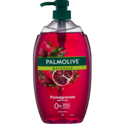 Photo of Palmolive Naturals Pomegranate With Mango Body Wash 0% Parabens Recyclable 1l
