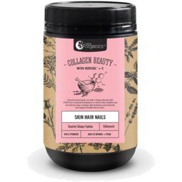 Photo of Nutra Organics Collagen Beauty Unflavoured 225g