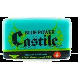 Photo of Blue Power Castile Aloe Vera Soap