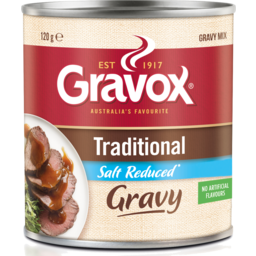 Photo of Gravox Canister Trad Red Salt 120gm