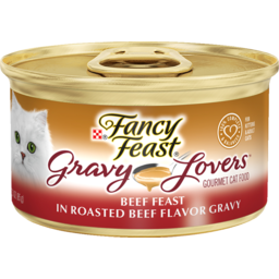 Photo of Fancy Feast Cat Food Gravy Lovers Beef Feast 85g