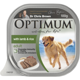 Photo of Optimum Adult Lamb & Rice 100gm
