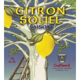 Photo of Craftwork Citron Soleil 500ml