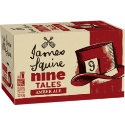 Photo of James Squire Nine Tales Amber Ale Stubbies