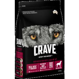 Photo of Crave Dry Dog Food Beef & Lamb 2.8kg Bag