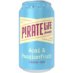 Photo of Pirate Life Acai & Passionfruit Can