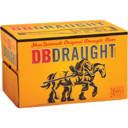 Photo of DB Draught Bottles 330ml 24 Pack