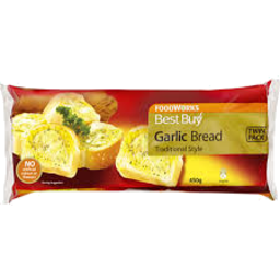 Photo of Best Buy Garlic Bread Twin Pack 450g