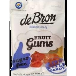 Photo of De Bron Sugar Free Fruit Gums 100gm