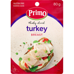 Photo of Primo Turkey Breast Thin Slice 80gm
