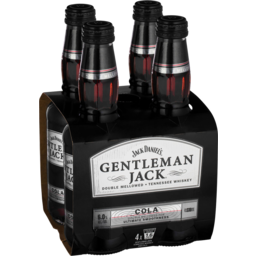 Photo of Gentleman Jack & Cola Stubbies