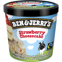 Photo of Ben And Jerry's Ben & Jerrys Ice Cream Strawberry Cheesecake Mini Cup 120ml