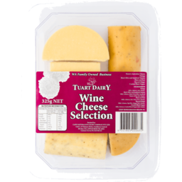 Photo of T/Dairy Wine Chse Select 325gm