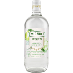 Photo of Smirnoff Infusions Cucumber Lime & Mint 700ml
