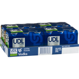 Photo of UDL Vodka Lime & Soda Cans
