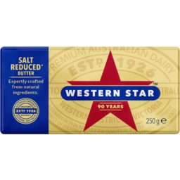 Photo of Western Star Salt Reduced Butter Pat 250g