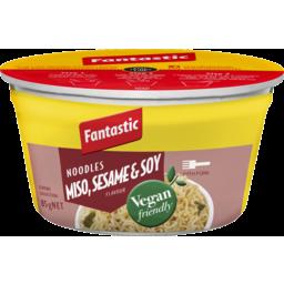 Photo of Fantastic Bowl Vegan Friendly Noodles Miso,Sesasme &Soy 85gm