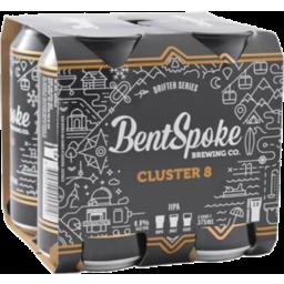 Photo of Bentspoke Cluster 8 Iipa 375ml 4 Pack