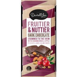 Photo of Darrell Lea Dark Chocolate Fruitier & Nuttier 180g