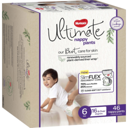 Photo of Huggies Ultimate Nappy Pants For Boys & Girls Size 6 (16kg & Over) 46 Pack