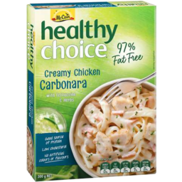 Photo of Mccain Healthy Choice Creamy Chicken Carbonara 300gm