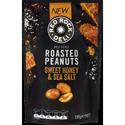Photo of Red Rock Deli Coated Peanuts Sweet Honey & Sea Salt 130g