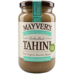 Photo of Mayvers - Tahini - Unhulled Cert Organic - 385g