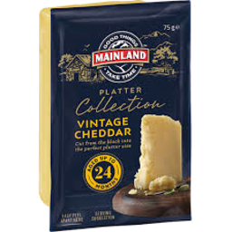 Photo of Mainland Cheese Platter Collection Vintage Cheddar 75g