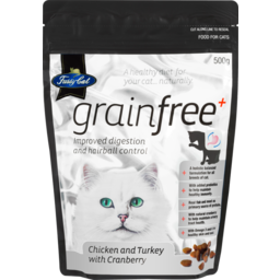 Photo of Fussy Cat Dry Cat Food Grain Free Chicken & Turkey With Cranberry 500g