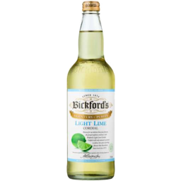 Photo of Bickfords Cordial Light Lime 750ml
