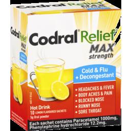 Photo of Codral Relief Cold Flu Decongestant Hot Drink
