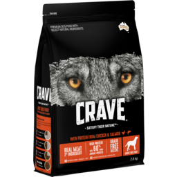 Photo of Crave Dry Dog Food Chicken & Salmon 2.8kg Bag